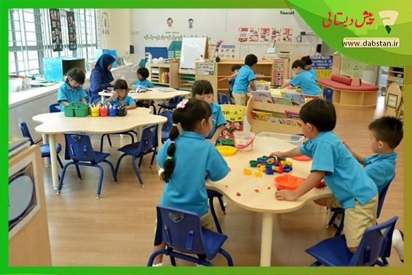 تدریس خصوصی کودکان پیش دبستانی